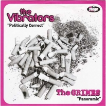 VIBRATORS / GRIMES - Politically Correct / Panoramic