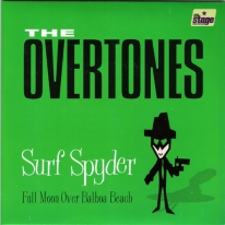 OVERTONES - Surf Spyder / Full Moon Over Balboa Beach